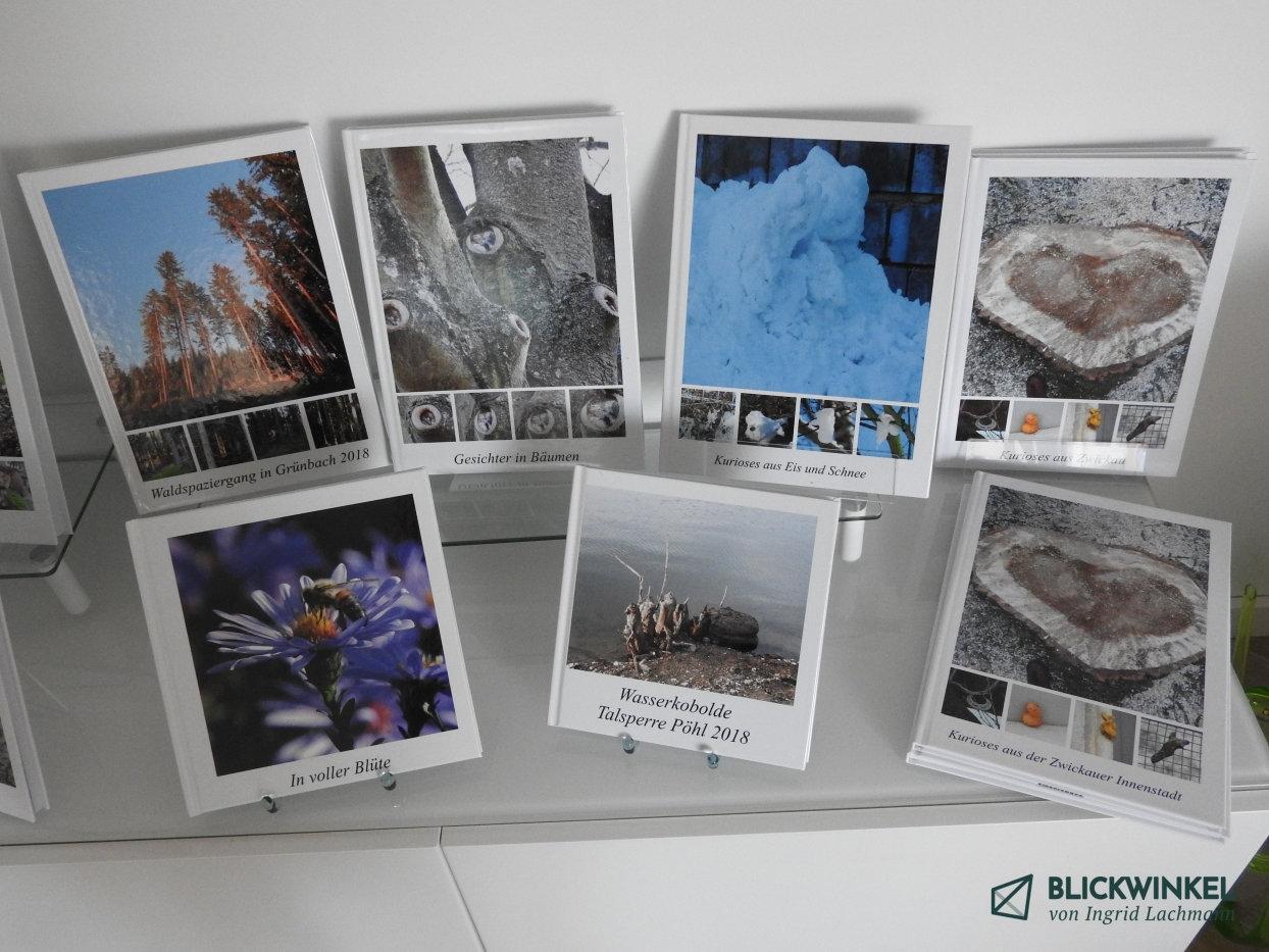Fotobücher im Blickwinkelraum
