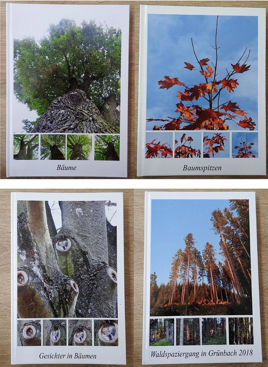Fotobücher A4 Auflistung