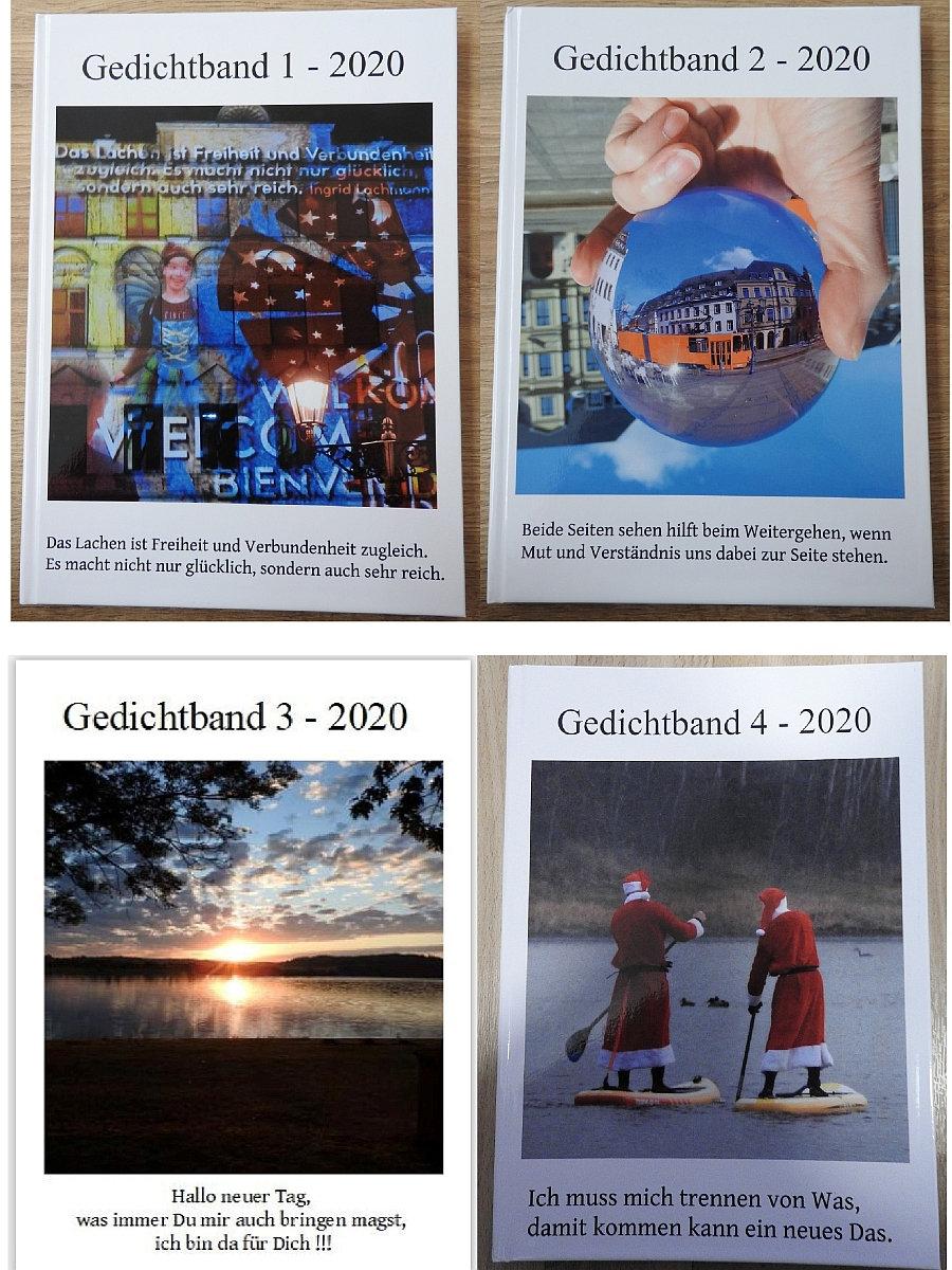 FotoGedicht Bücher A4 Auflistung