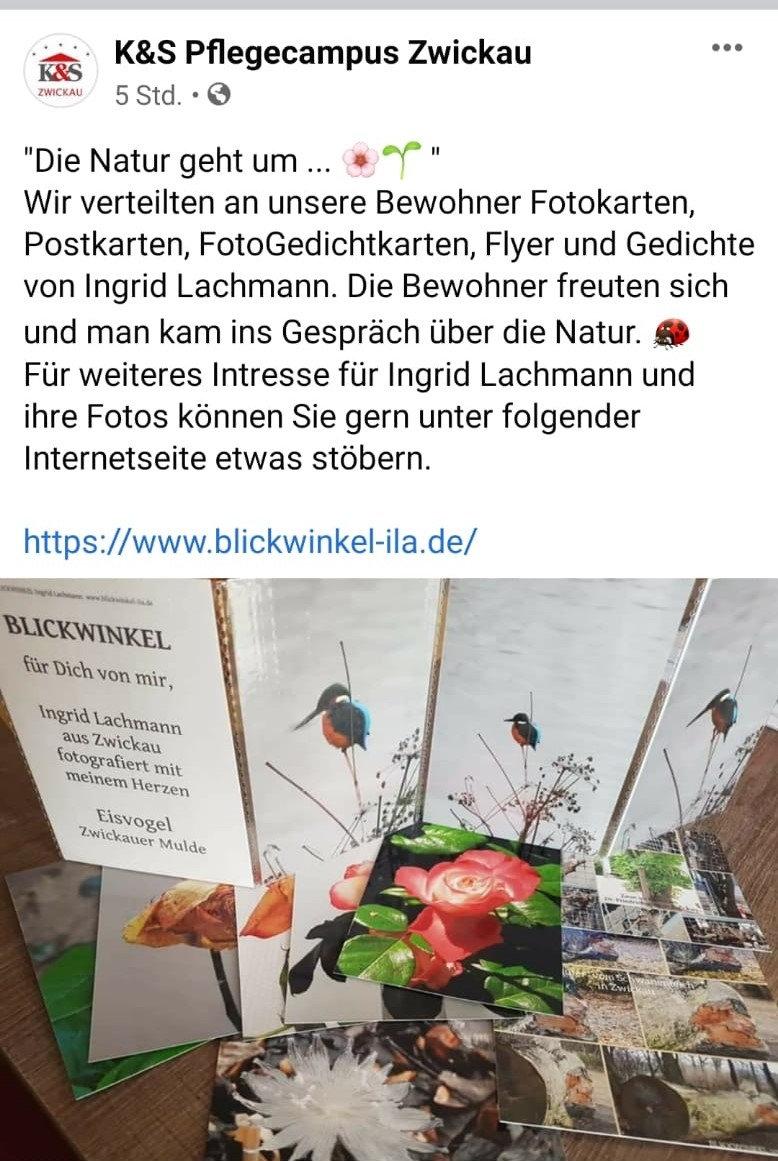 Ostergeschenke an die Bewohner der K&S Seniorenresidenz Zwickau